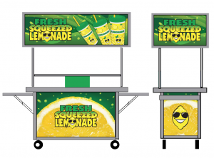 mobile lemonade stand graphics