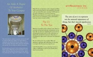 SCUP a4b Brochure design