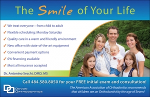 Devon Orthodontics Direct mailer