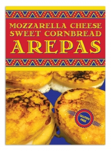 Arepas poster a-frame sign design