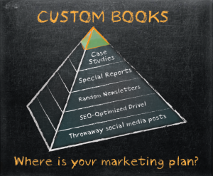 Custom book website graphic design
