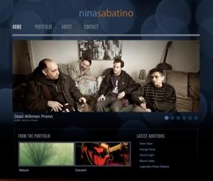 ninasabatino.com Wordpress website