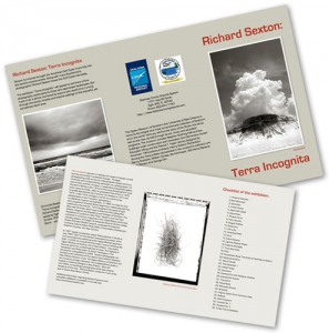 Richard Sexton Exhibit brochure design