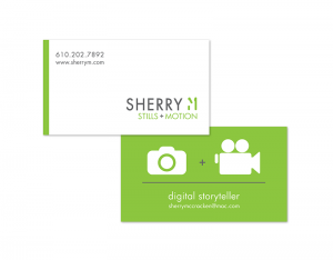 SHERRY M Business Card